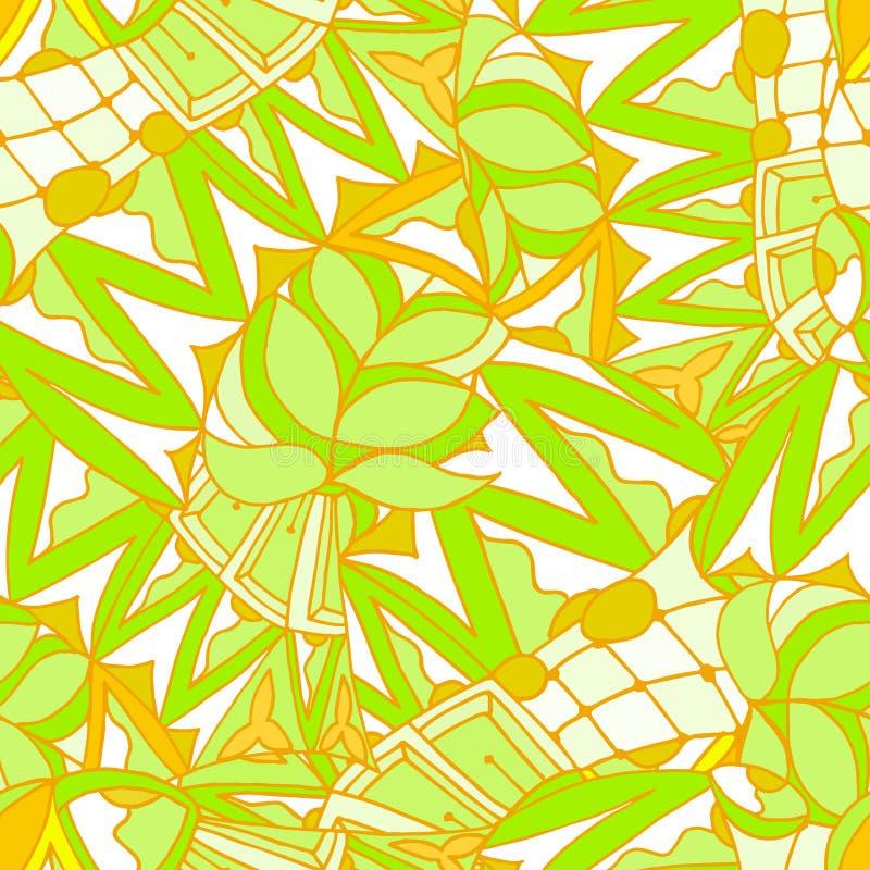 Fundo abstrato das formas geométricas sem emenda imagens de stock