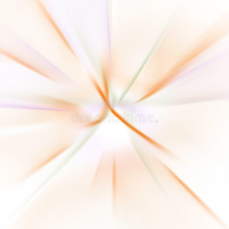 Fundo abstrato das linhas e das formas ilustração royalty free