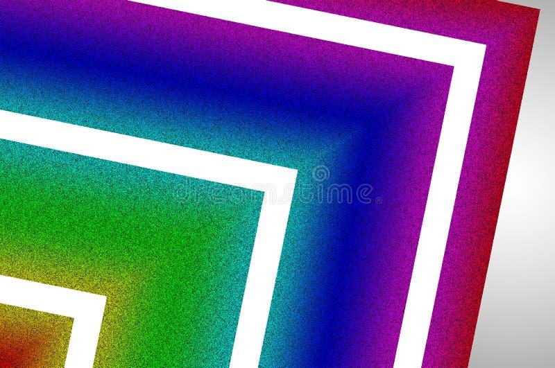 Fundo abstrato de brilho/Shinning no fundo do inclinação ilustração do vetor