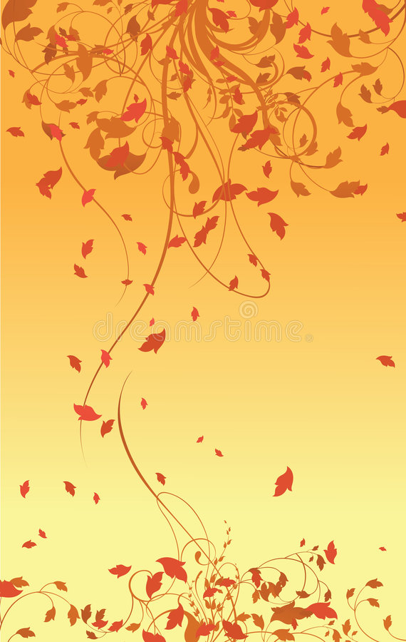Fundo abstrato de floral ilustração stock