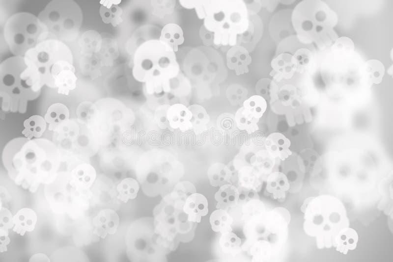 Fundo abstrato de-focalizado preto e branco do borrão da foto, com ilustração stock