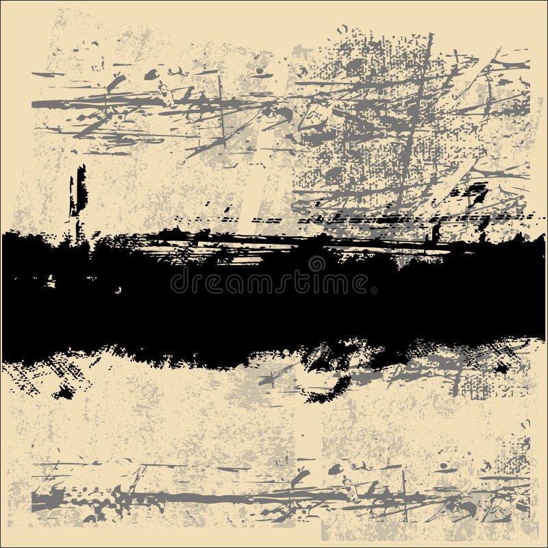 Download Fundo abstrato de Grunge ilustração do vetor. Ilustração de poster - 10058771