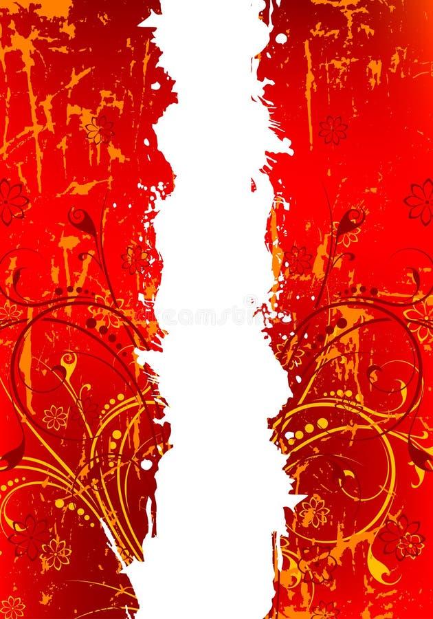 Fundo abstrato de Grunge ilustração stock
