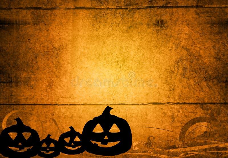 Fundo abstrato de Halloween ilustração stock