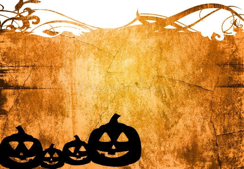 Fundo abstrato de Halloween ilustração royalty free