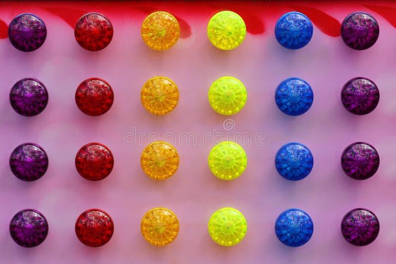 Fundo abstrato de luzes coloridas brilhantes imagem de stock