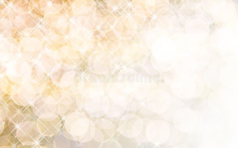 Fundo abstrato de luzes do feriado fotos de stock royalty free