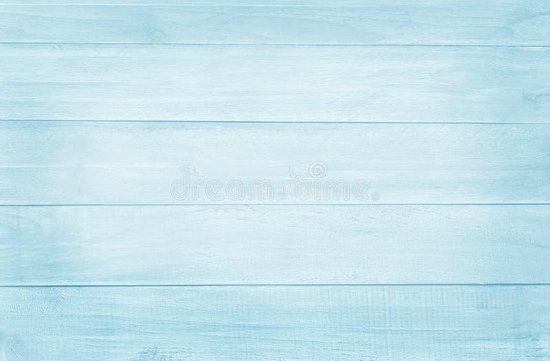 Fundo abstrato de madeira, textura da cor pastel azul com testes padrões naturais para o trabalho de arte do projeto foto de stock royalty free