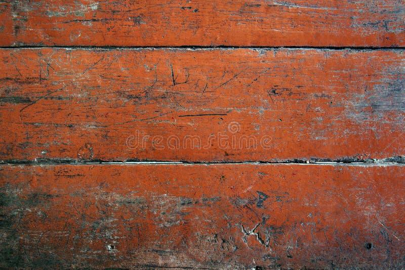 Fundo abstrato de madeira vermelho da textura. fotos de stock royalty free