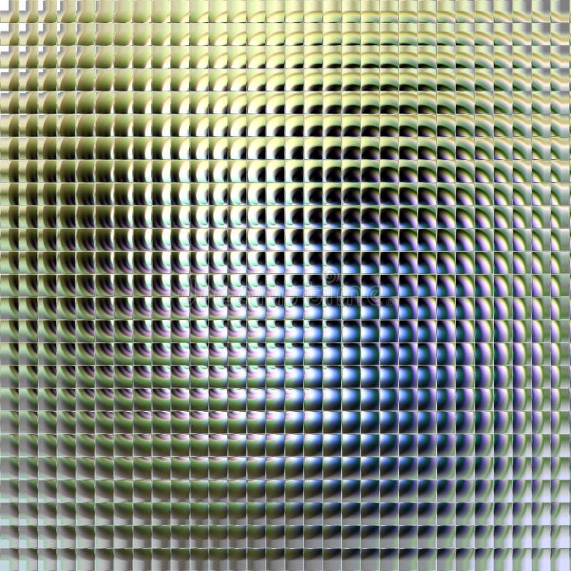 Fundo abstrato de prata de vidro ilustração stock
