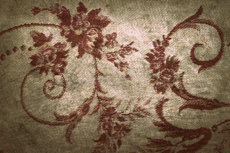 Fundo abstrato de superfície manchado da textura do teste padrão oriental velho do grunge do tapete foto de stock royalty free