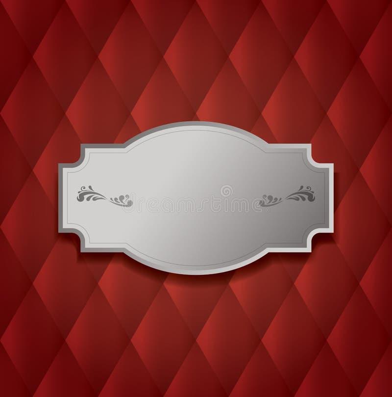 Fundo abstrato de upholstery ilustração stock