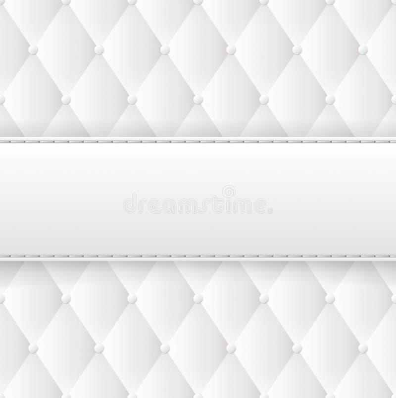 fundo abstrato de upholstery do vetor ilustração royalty free