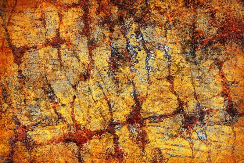 Download Fundo Abstrato Do Amarelo Do Grunge Imagem de Stock - Imagem de pintado, sumário: 12811467