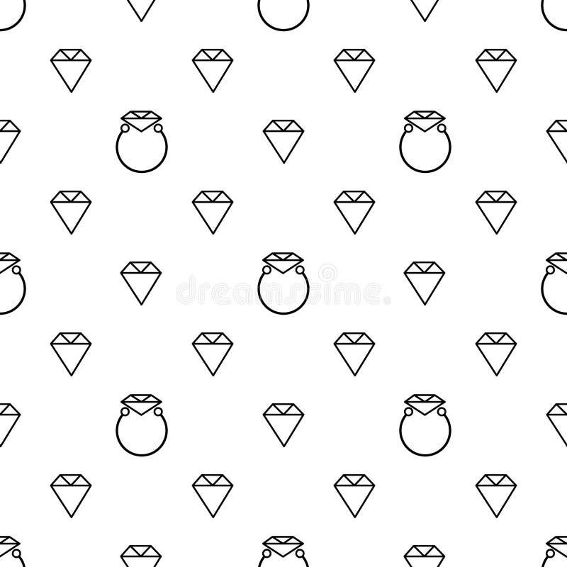 Fundo abstrato do anel de diamante fotografia de stock