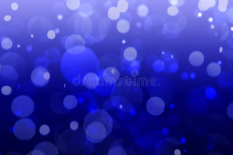 Fundo abstrato do bokeh azul vívido de Dive Aqua imagens de stock
