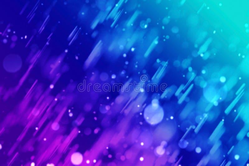 Fundo abstrato do bokeh azul vívido de Dive Aqua foto de stock royalty free