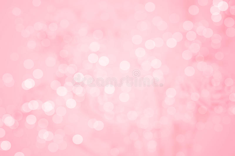 Fundo abstrato do borrão: Bokeh cor-de-rosa bonito fotos de stock royalty free