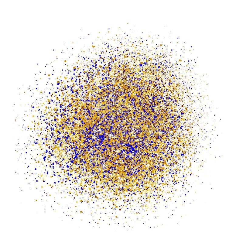 Fundo abstrato do brilho do ouro Sparkles brilhantes para o cartão foto de stock