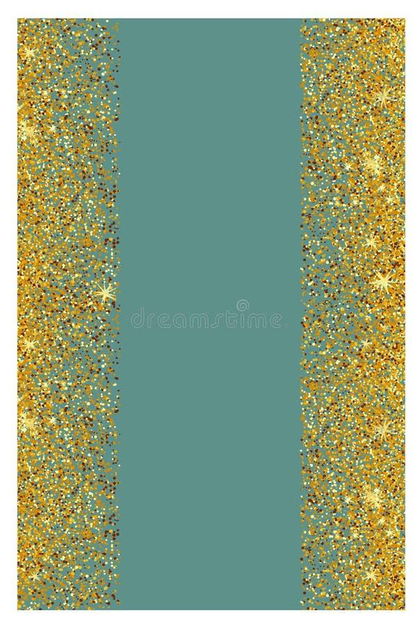 Fundo abstrato do brilho do ouro Sparkles brilhantes para o cartão fotografia de stock