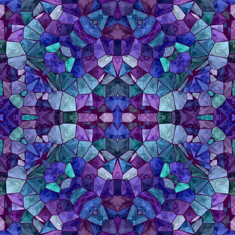 Fundo abstrato do caleidoscópio Textura multicolorido bonita do caleidoscópio ilustração stock