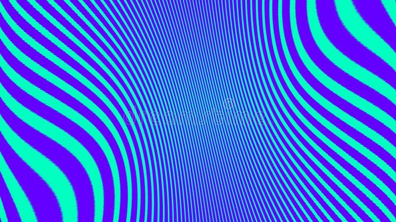 Fundo abstrato do duotone Textura de intervalo m?nimo Inclinação na moda do Cyberpunk do synthwave ilustração do vetor