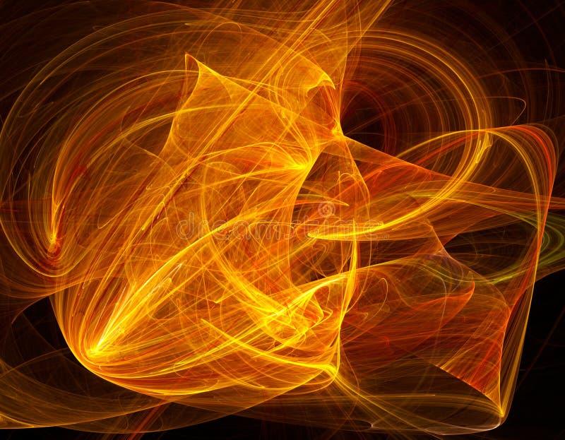 Fundo abstrato do fractal ilustração stock