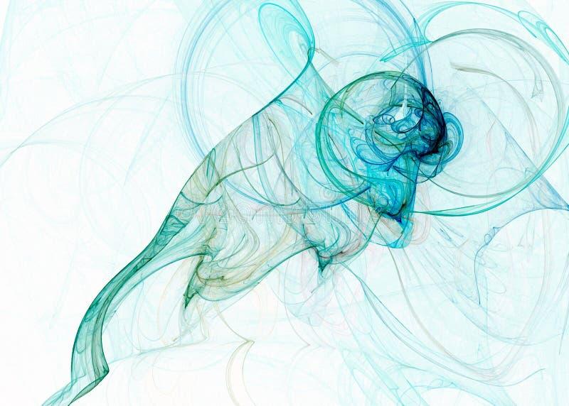 Fundo abstrato do fractal ilustração do vetor