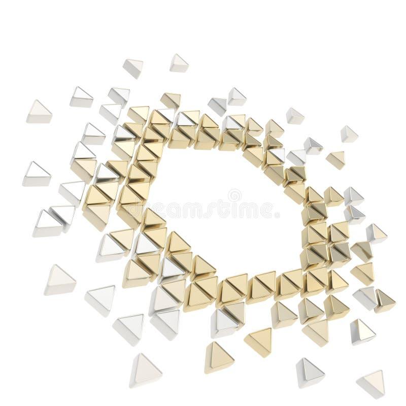 Download Fundo Abstrato Do Frame Do Hexágono Do Copyspace Ilustração Stock - Ilustração de digital, geometria: 26507638