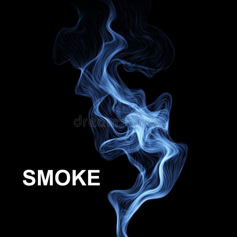Fundo abstrato do fumo Ilustração do vetor ilustração do vetor