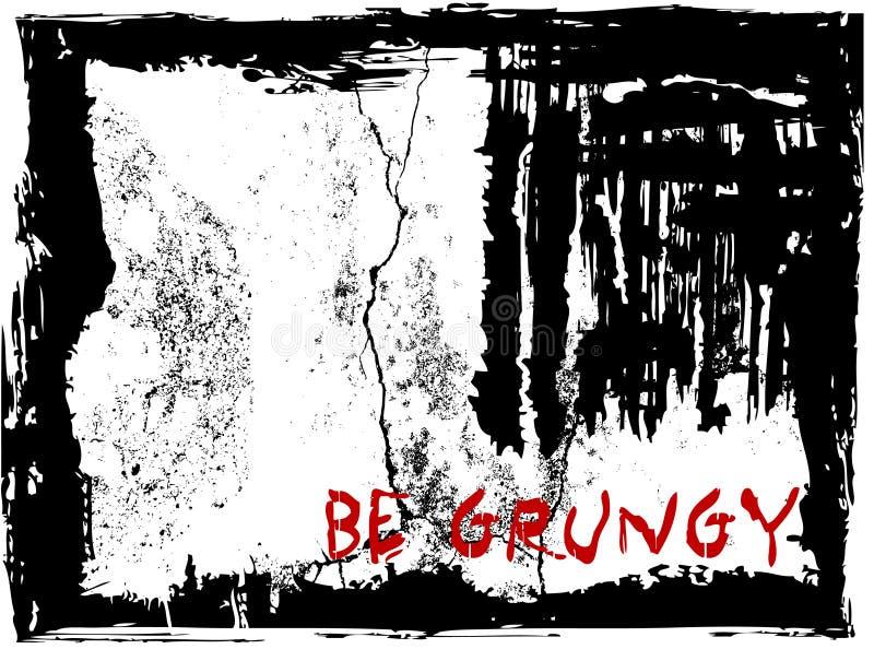 Fundo abstrato do grunge   ilustração stock