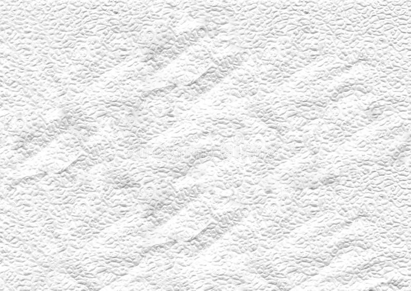 Fundo abstrato do guardanapo amarrotado branco foto de stock