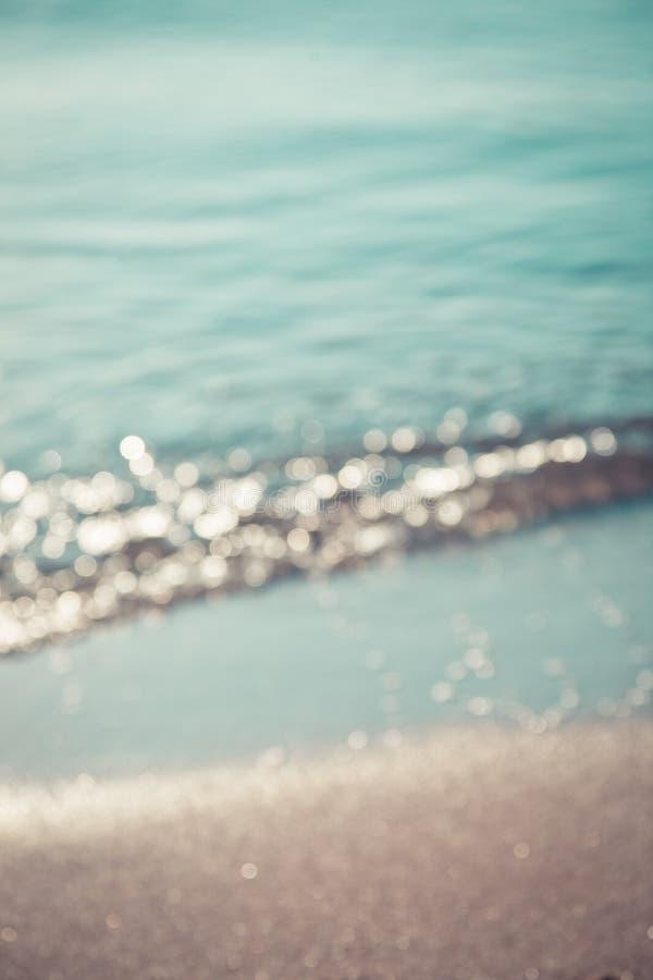 Fundo abstrato do mar fotos de stock