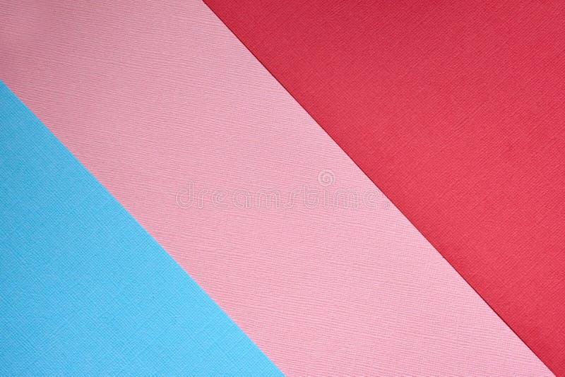 Fundo abstrato do minimalismo da textura do papel colorido da cor pastel Formas e linhas geom?tricas m?nimas imagens de stock royalty free
