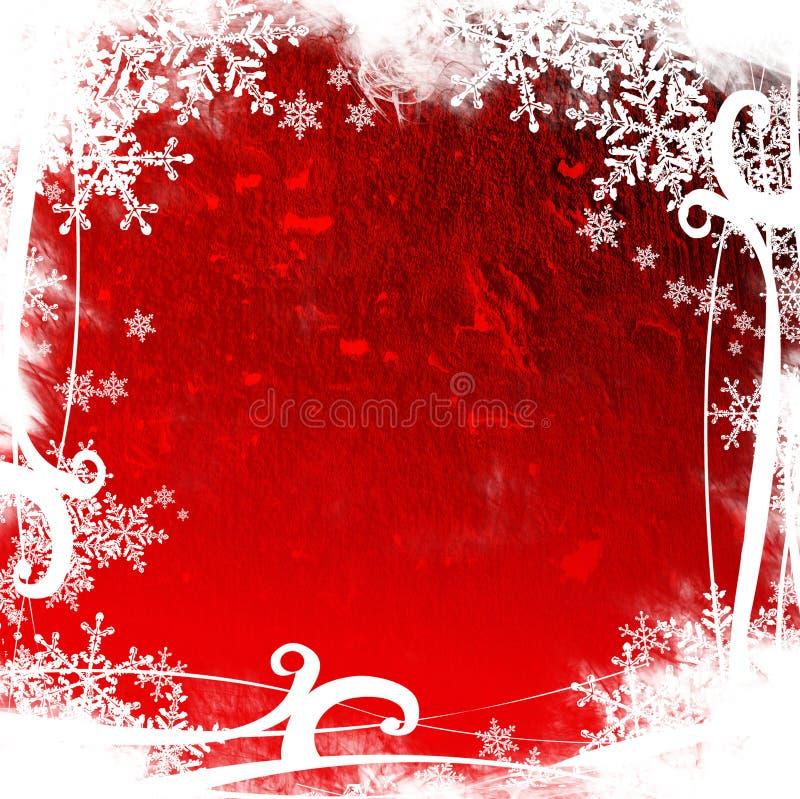 Fundo abstrato do Natal ilustração stock