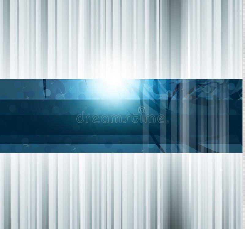 Fundo abstrato do negócio da alta tecnologia ilustração do vetor