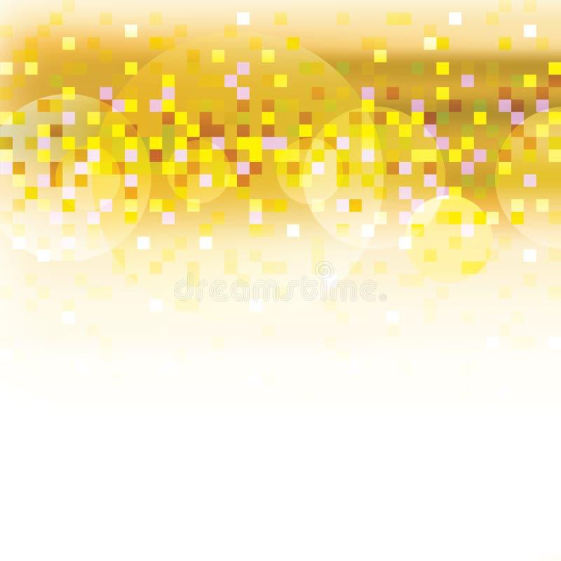 Fundo abstrato do pixel ilustração do vetor