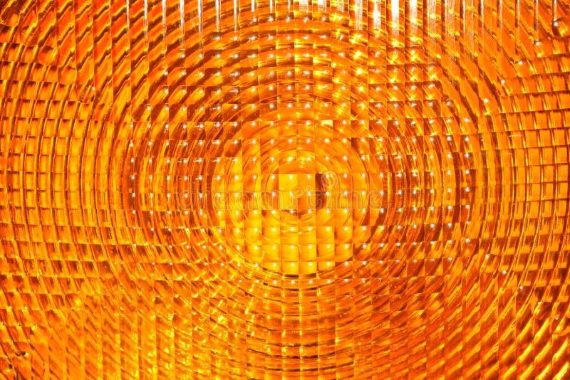 Fundo abstrato do plástico lapidado amarelo imagem de stock royalty free
