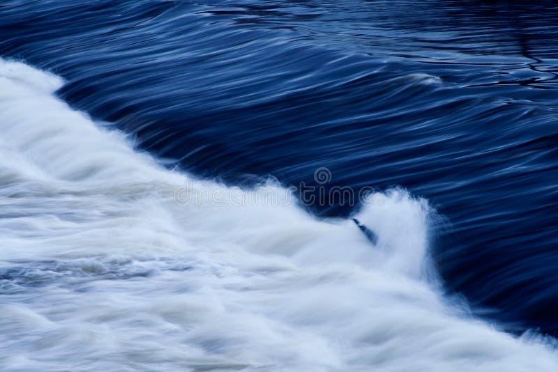 Fundo abstrato do rio foto de stock