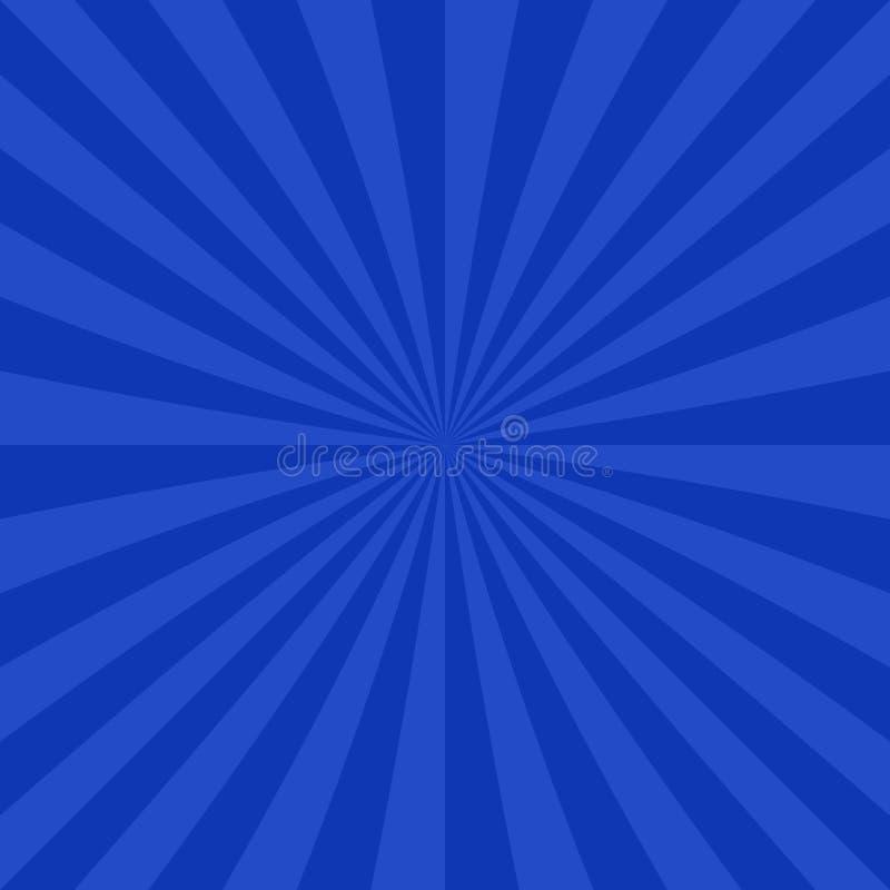 Fundo abstrato do starburst das listras radiais ilustração do vetor