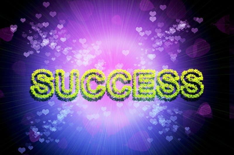 Fundo abstrato do sucesso ilustração royalty free