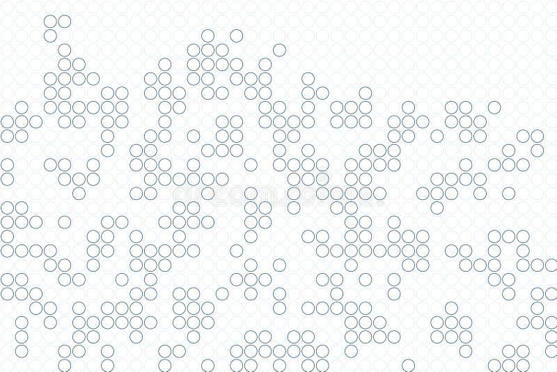 Fundo abstrato do teste padrão ilustração royalty free