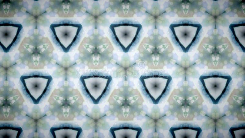 Fundo abstrato do teste padrão de flor branca fotos de stock