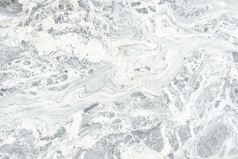 Fundo abstrato do teste padrão de mármore branco da textura na natureza foto de stock