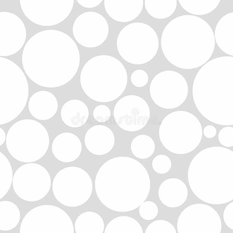 Fundo abstrato do teste padrão do círculo ilustração do vetor