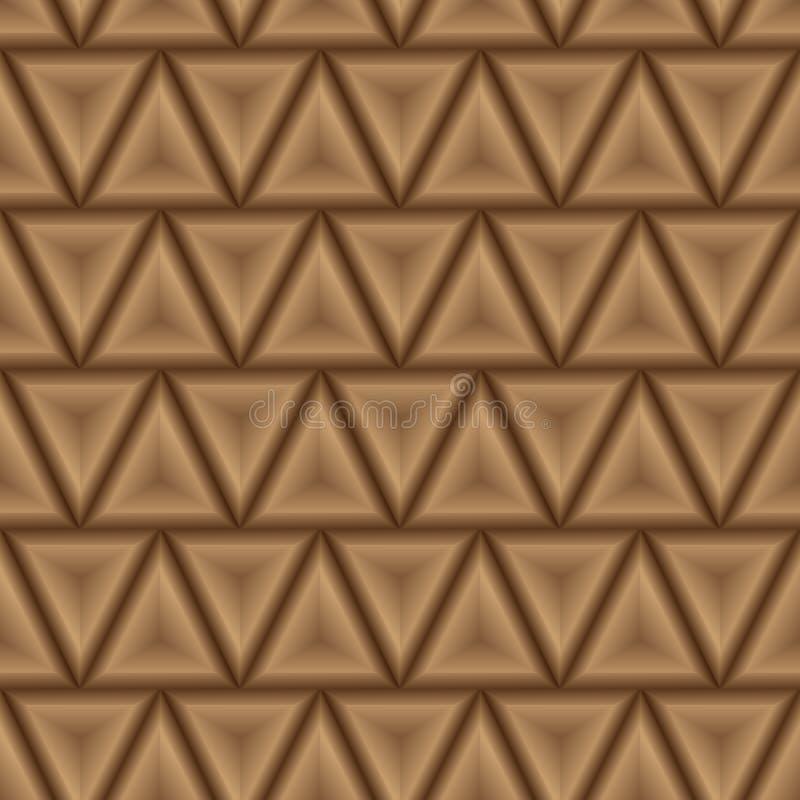 Fundo abstrato do teste padrão dos triângulos - vetor eps10 fotos de stock royalty free