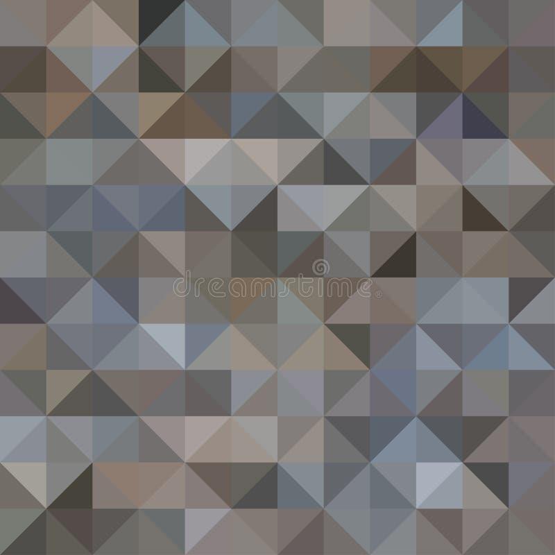 Fundo abstrato do triângulo ilustração stock