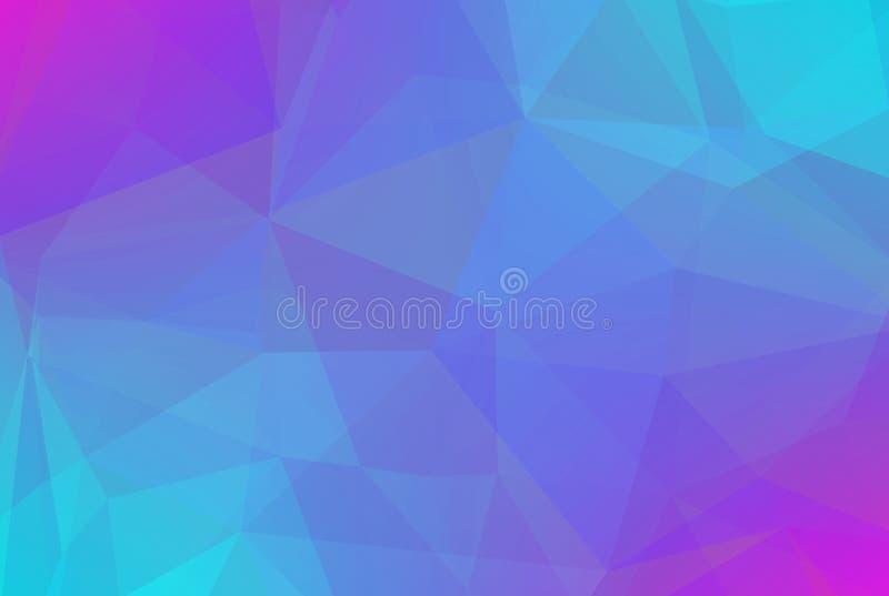 Fundo abstrato do triângulo do inclinação ilustração stock