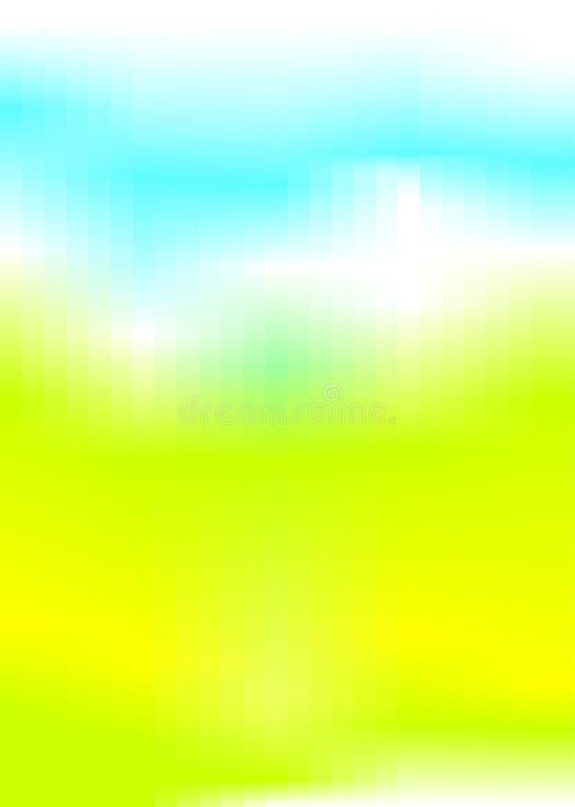 Fundo abstrato do verde azul foto de stock royalty free