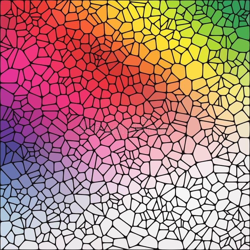 Fundo abstrato do vetor da cor seixos Estilo poligonal Disposi??o para anunciar Eps 10 ilustração do vetor